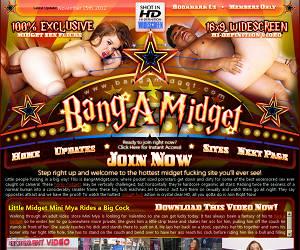 Sexy Midget Porn Movies & Fucking Pics Nude Dwarf Sex Videos - BangAMidget.com!