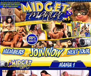 MIDGET MANIA - Absolutly hottest collection of high-quality DVD movies! Really Fresh Content!
