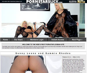 Porn Stars Lick - The worlds hottest porn stars having lesbian sex! Take the FREE Tour.