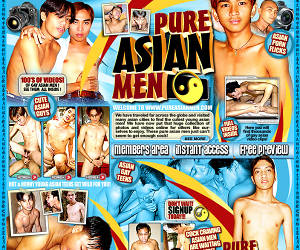 Pure Asian Men - We have traveled far across the globe and visited many asian cities to find the cutest young asian men!