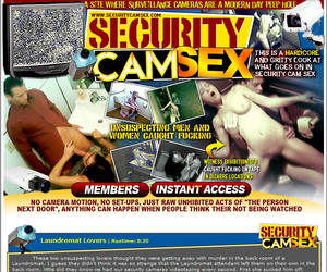 Welcome to Security Cam Sex!