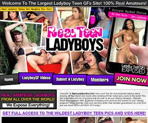 TeenLadyboyGFs.com - Teen Ladyboy Gfs - Real amateur ladyboys