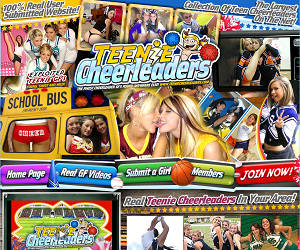 TeenieCheerleaders.com!
